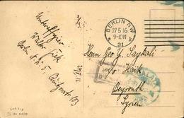 ALLEMAGNE - Affranchissement Plaisant Sur Carte Postale ( Gefangenenlager ) Pour Beyrouth En 1916 - L 51171 - Allemagne