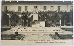 10750 Scuola D ' Applicazione Di Sanità Militare - Monumento Al Medico Caduto In Guerra - War Memorials
