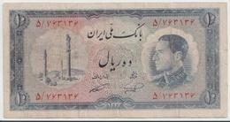 PERSIA P.  64 10 R 1954 F - Iran