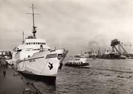 04273 - Seebäderschiff BUNTE KUH Und Hafenbarkasse ALTENWERDER Im Hafen Von Hamburg - Paquebots