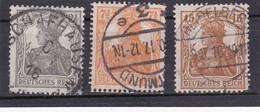 Deutsches Reich, Nr. 98/100, Gest. (T 13795) - Gebraucht