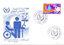 SAFEGUARD OF THE DISABLED ALGERIA 1981 (GENN200557) - Handicap