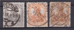 Deutsches Reich, Nr. 98/100, Gest. (T 13802) - Gebraucht