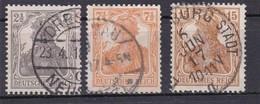 Deutsches Reich, Nr. 98/100, Gest. (T 13804) - Gebraucht