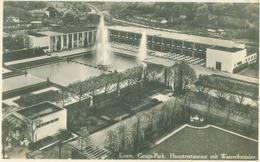 Essen; Gruga-Park. Hauptrestaurant Mit Wasserfontaine - Gelaufen. (Gerhard Lersten - Essen) - Essen