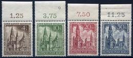 Mi. 106/109   Kaiser - Wilhelm - Gedächtniskirche M. OR ** - [5] Berlino
