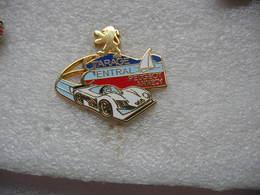 Pin's Arthus Bertrand, Garage Central D'Annecy, Concessionnaire PEUGEOT. Peugeot 905 - Arthus Bertrand