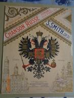 Partition De Musique  : Chanson Russe ,romance Pour Piano Par S.SMITH - Autres