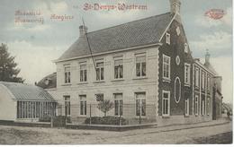 12. ST-DENYS-WESTREM : Brasserie - Brouwerij Roegiers - RARE CPA - Cachet De La Poste 1918 - Gent