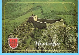 Château-Forteresse De Montsegur (Lavelanet-Ariège)-Vue Aérienne-Nid D'Aigle-Pays Cathare-Guerre Des Albigeois - Lavelanet