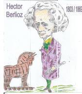 3 Marque- Pages HECTOR BERLIOZ  édités  à L' Occasion Du Salon De La Carte Postale De MONTBELIARD - Segnalibri