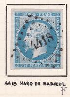 France - PC 4418 - Marcq-en-Baroeul - Nord - 1849-1876: Période Classique