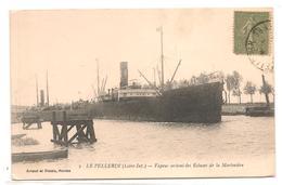 Le Pellerin - Vapeur Sortant Des Ecluses De La Martiniere -  CPA° - France