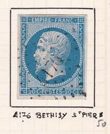 France - PC 4176 - Béthisy-St-Pierre - Oise - Storia Postale (Francobolli Sciolti)