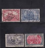 Deutsches Reich, Nr. 94/97 A II, Gest. (T 13812) - Gebraucht