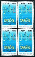 Italia Nº 1807 (bloque-4) Nuevo Cat.34€ - 1981-90: Mint/hinged