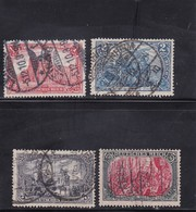 Deutsches Reich, Nr. 94/97 A II, Gest. (T 13813) - Gebraucht