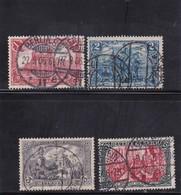 Deutsches Reich, Nr. 94/97 A II, Gest. (T 13814) - Gebraucht