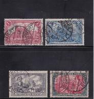 Deutsches Reich, Nr. 94/97 A II, Gest. (T 13815) - Gebraucht