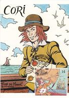 Carte Maximum  B.D. - Cori Le Moussaillon - Timbre N°2429 -  FDC 1991 - Oblitération Serskamp - Maximum Cards