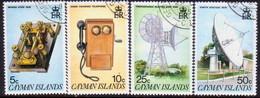 Cayman Islands 1985 SG #617-20 Compl.set Used Telecommunications System - Caimán (Islas)