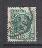 COB 254 Oblitération Télégraphe BRUGGE - 1922-1927 Houyoux