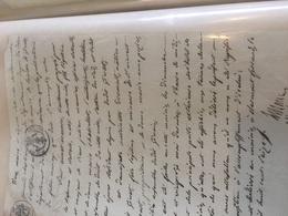 Clermont Ferrand 1816 Annonce Mariage Meunier Dromast De Givet ... - Mariage