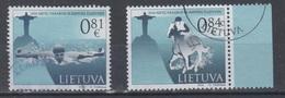 Lithuania 2016 Mi 1222-3 Used Rio De Janeiro Olympic - Lituanie