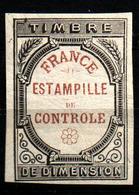 """France Fiscal - Connaissement N°1A Oblit. """"Chiffres D'Oudiné"""" - Fiscaux"""