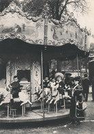 Paris 1900 ,le Manege De La Fete Foraine - Francia