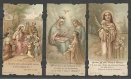 3 Vintage. Holy Card /Heilige Prentjes. - Images Religieuses