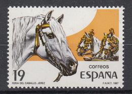SPANJE - Michel - 1987 - Nr 2783 - MNH** - 1931-Aujourd'hui: II. République - ....Juan Carlos I