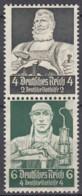 DR S 219, Postfrisch**,  Nothilfe: Berufsstände 1934 - Se-Tenant