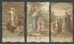3 Vintage. Holy Card /Heilige Prentjes. 1918 - Images Religieuses