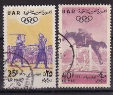 Syria 1960, Sports, Horse, Minr V86-v87 Vfu - Syrien