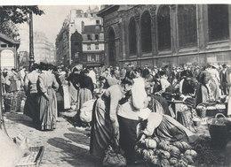 Paris 1900 ,aux Halles A La Hauteur De St Eustache - Francia