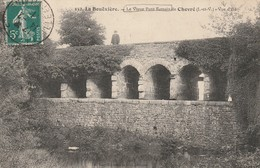LA BOUEXIERE Le Vieux Pont Romain De CHEVRE - France