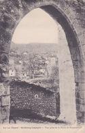 46 - LOT - ST CIRCQ-LAPOPIE - VUE PRISE DE LA PORTE DE ROCAMADOUR - Saint-Cirq-Lapopie