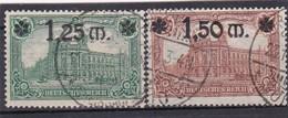 Deutsches Reich, Nr. 116/17, Gest. (T 13820) - Gebraucht