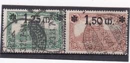 Deutsches Reich, Nr. 116/17, Gest. (T 13821) - Gebraucht