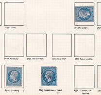 France - Lot De 3 Timbres Oblitération PC Du Département Du Tarn - Poststempel (Einzelmarken)