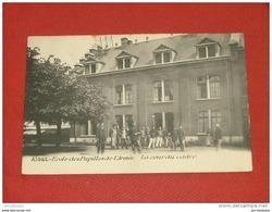 AALST - ALOST - MILITARIA - Ecole Des Pupilles De L'Armée - La Cour Du Cadre - Aalst