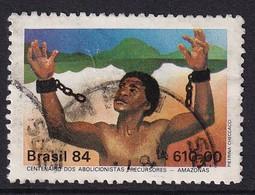 Brazil 1984, Abolition Slavery, Minr 2022 Vfu - Gebruikt