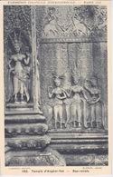 75 - EXPOSITION COLONIALE INTERNATIONALE PARIS 1931 - TEMPLE D'ANGKOR-VAT BAS RELIEF - Mostre