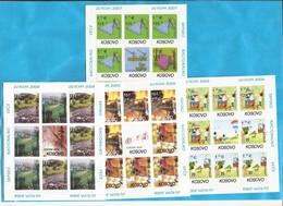 2000-2007 SAMMLUNG KOMPLET MF --10 STUECK- 90  STAMPS !!! ALLES X 5 !!!!MNH - 2000