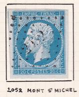 France - PC 2052 - Mont-St-Michel - Manche - 1849-1876: Classic Period
