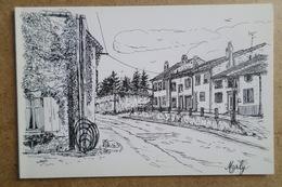 MARLY  - Illustrateur C.Roux - Carte Double ( 57 Moselle ) - Altri Comuni