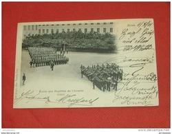 AALST - ALOST - MILITARIA - Ecole Des Pupilles De L'Armée - Défilé  - 1904  - - Aalst