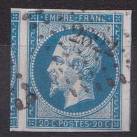France - Lot De 7 Timbres Du Département Des Vosges - 1849-1876: Période Classique
