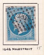 France - PC 1848 - Malestroit - Morbihan - 1849-1876: Période Classique